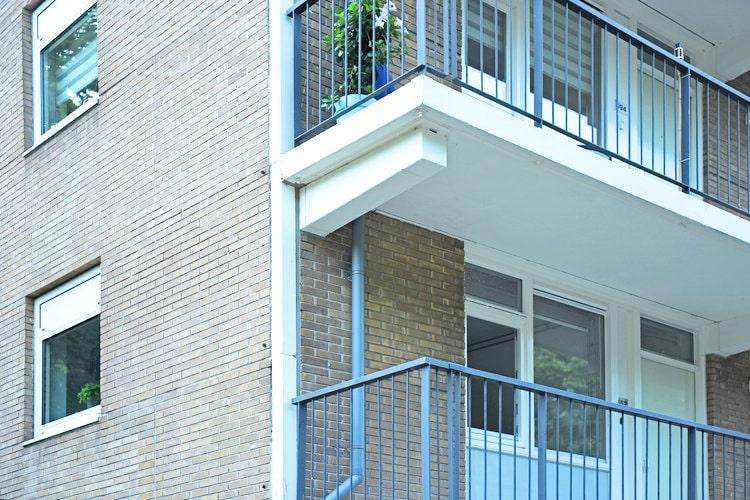 Componisten Sweelinck Tilburg renovatie buitenzijde flat