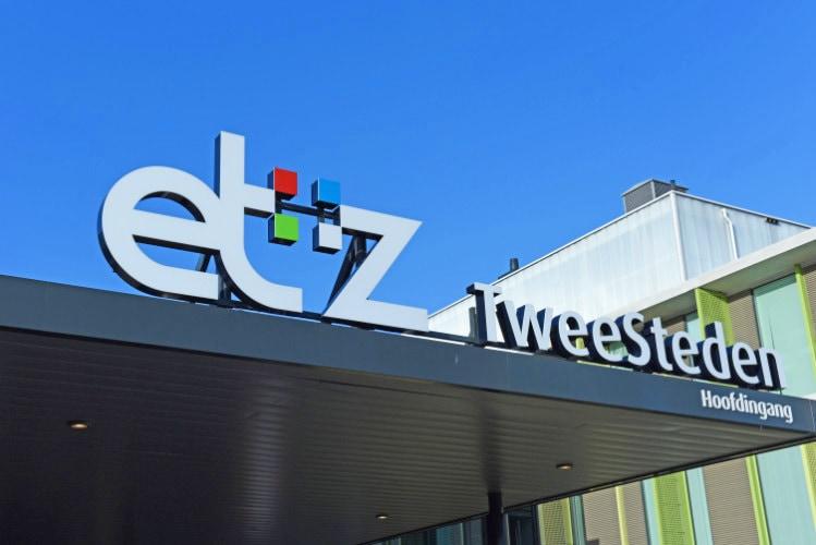 Schildewerk buiten ETZ Tweesteden Tilburg