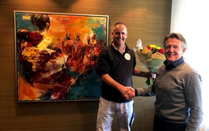 12,5 jaar in dienst bij van Aarle Vastgoedonderhoud Tilburg